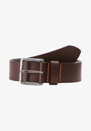 JEEKO - Belt business - dark brown