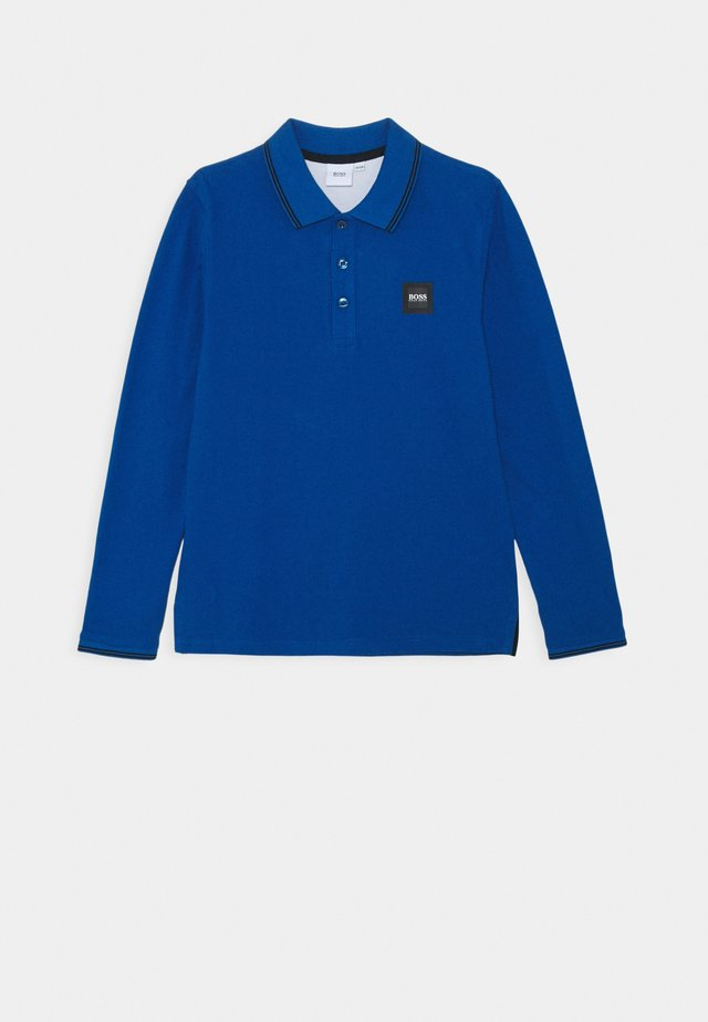 LONG SLEEVE - Polo shirt - electric blue