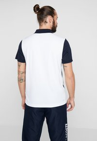 Lacoste Sport - TENNIS - Sports shirt - navy blue/white/ red - 2