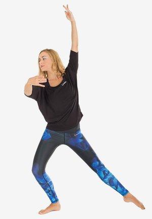 HWL102 RUBIN HIGH WAIST -TIGHTS - Leggings - saphir