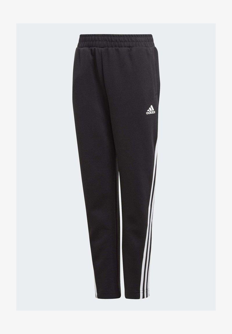 adidas Performance - 3 STRIPES ATHLETICS SPORTS REGULAR PANTS - Spodnie treningowe - black