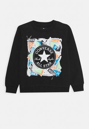 SNEAKER CHUCK PATCH CREW - Sweatshirt - black