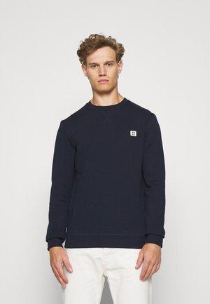 ZALANDO X LES DEUX PIECE - Sweatshirt - dark navy/off white/royal blue