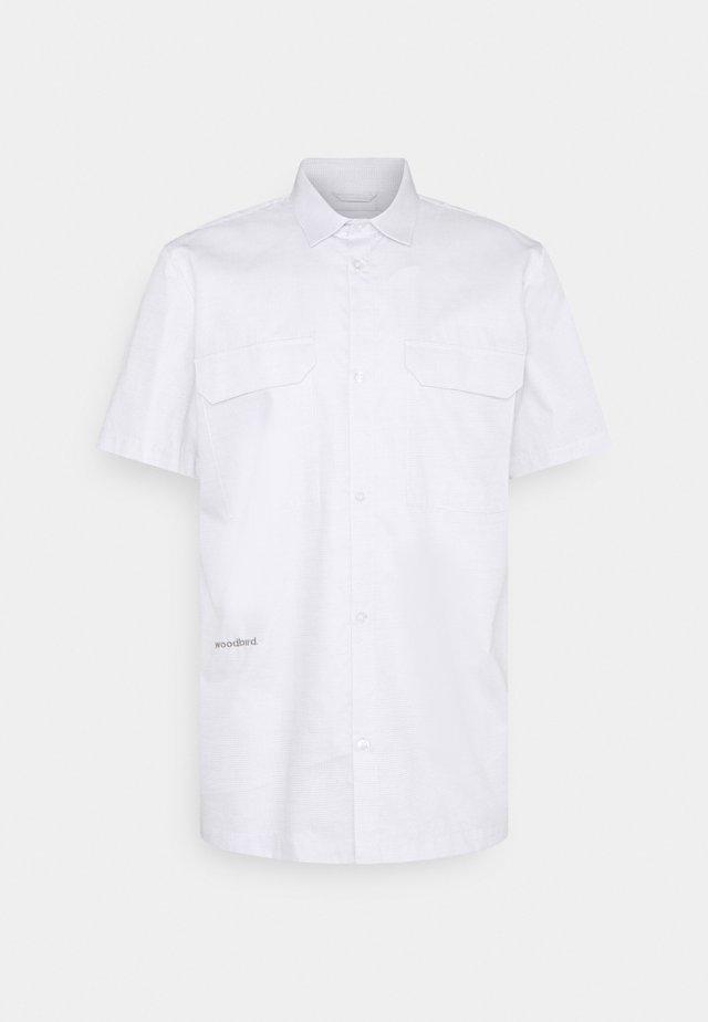 JILLAX SAF - Shirt - white/grey