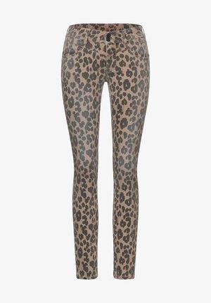 MIT LEO - Jeans Skinny Fit - braun