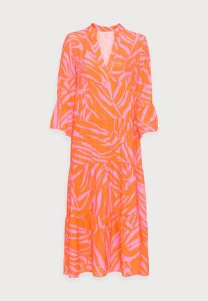 Korte jurk - orange/pink