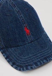 Polo Ralph Lauren - CLASSIC SPORT  - Cap - dark wash denim - 6