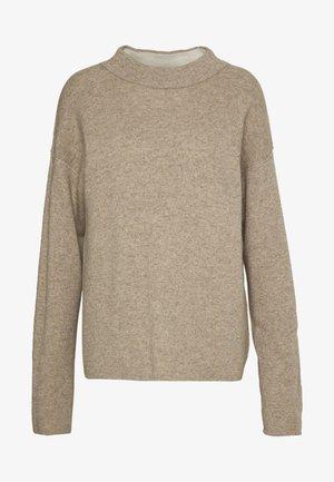 TURTLE NECK - Sweter - beige