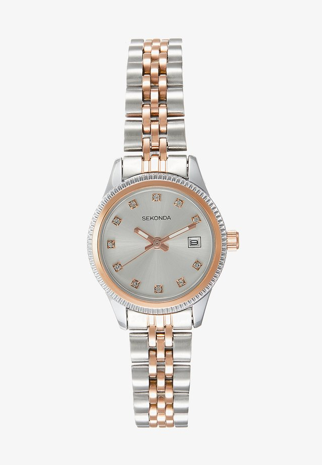 LADIES WATCH ROUND - Rannekello - silver-coloured