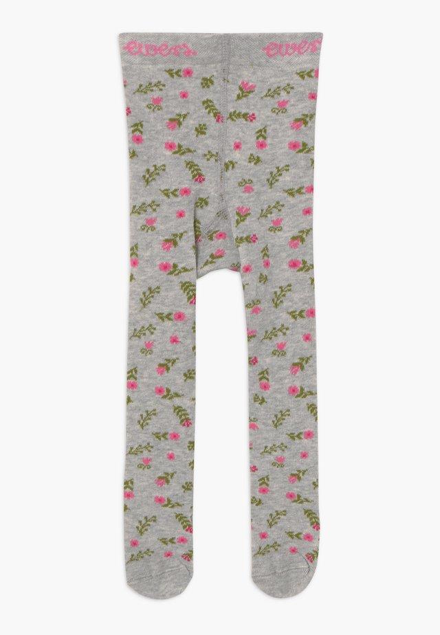 FLOWERS - Sukkahousut - grau
