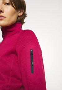 Campagnolo - Fleece jacket - sangria - 4