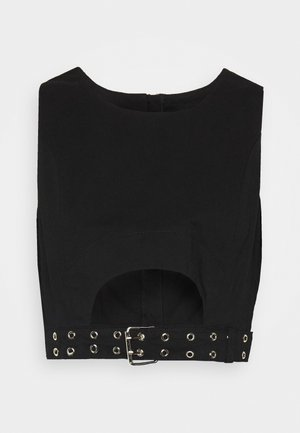 SHADOW  - Blusa - black