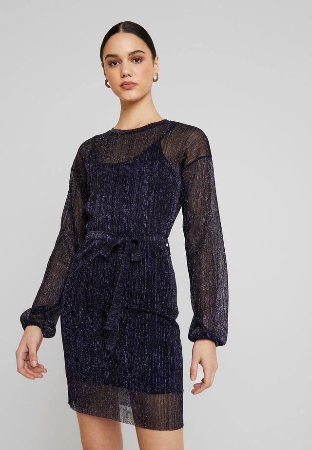 SHIMMER DRESS - Vestito elegante - blue