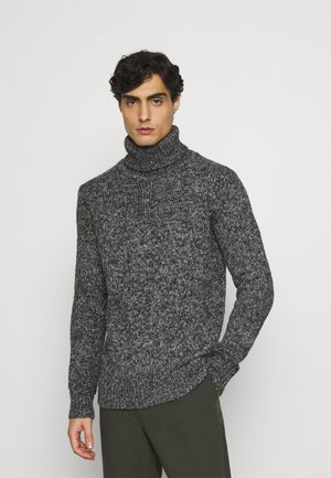 TURTLE NECK SWEATER - Jumper - anthra grey/heavy melange