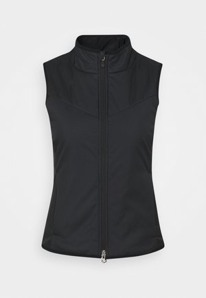 WARM FILLED VEST - Kamizelka - black