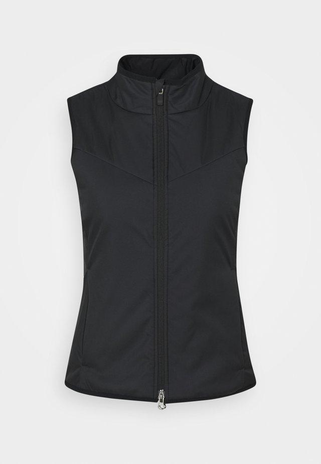 WARM FILLED VEST - Waistcoat - black