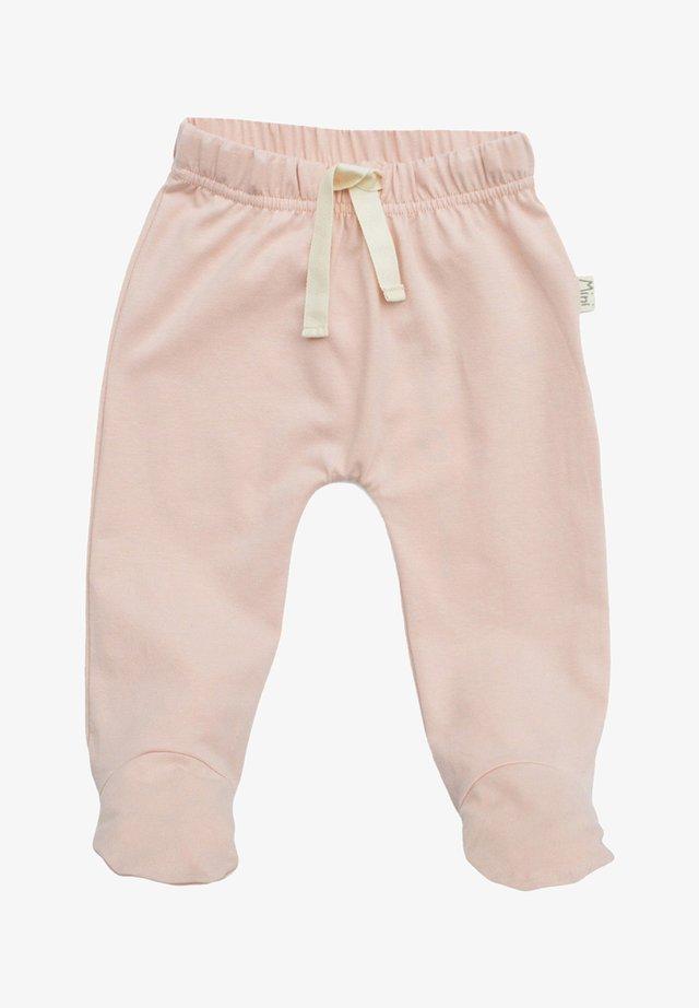 Trousers - powder rose