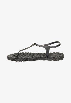 T-bar sandals - zwart