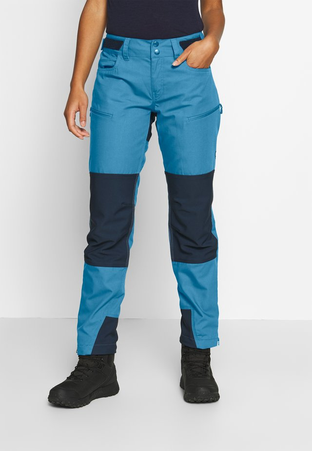 SVALBARD HEAVY DUTY PANTS - Ulkohousut - coronet blue