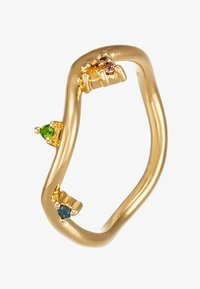 Maria Black - BARKER RAINBOW RING - Ring - gold-coloured - 4