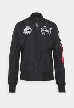 NASA REVERSIBLE  - Bomber Jacket - black