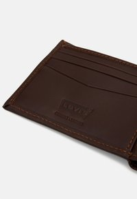 Levi's® - HUNTE BIFOLD BATWING - Wallet - brown - 4