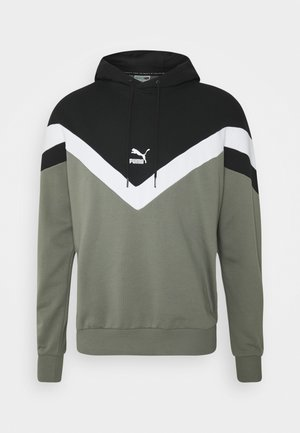 ICONIC HOODIE - Sweat à capuche - ultra gray