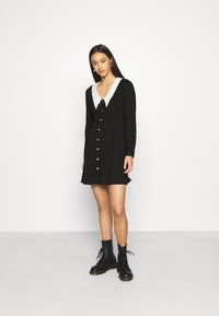 Monki - NOOMI DRESS - Shirt dress - black - 1