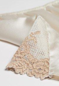 Intimissimi - PRETTY FLOWERS - Pyjama bottoms - elfenbein/ vanilla ivory/beige - 4
