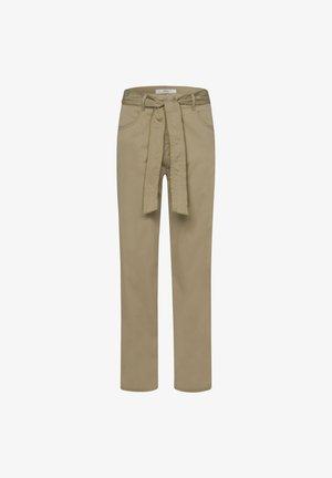 STYLE MELO - Pantalon classique - khaki