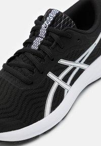 ASICS - PATRIOT 12 - Neutral running shoes - black/white - 5