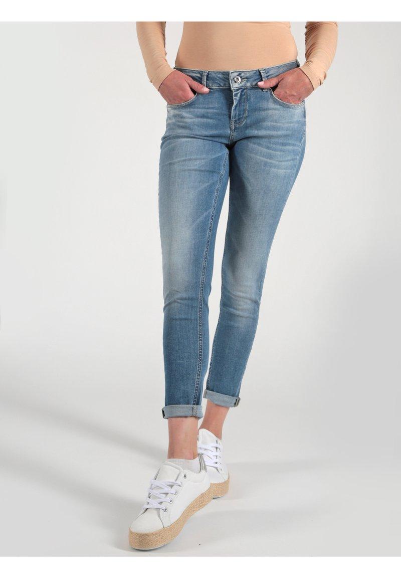 Miracle of Denim - Jeans Skinny Fit - blaugrau