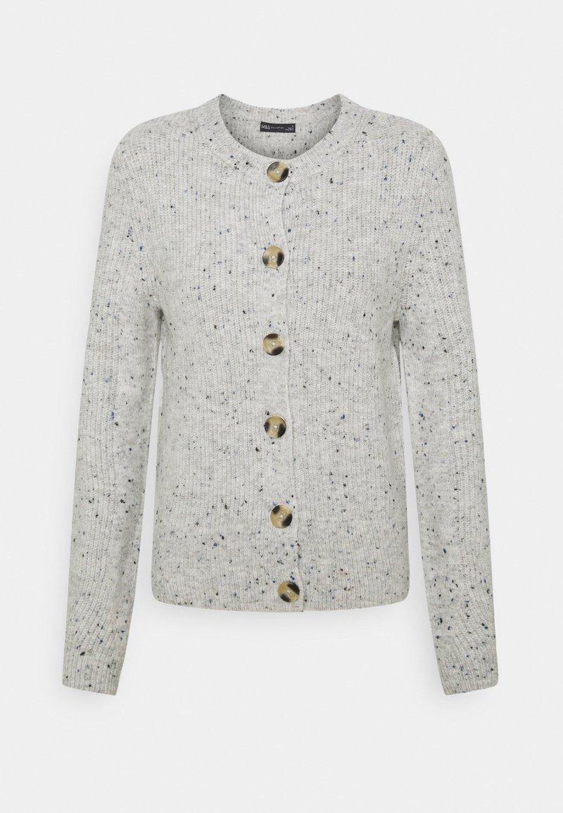 Marks & Spencer London - SPONGEY CARDI - Cardigan - grey