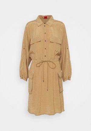 KESAKA - Shirt dress - light beige