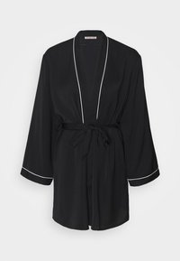 Anna Field - AMANDA DRESSING GOWN  - Badjas - black - 4
