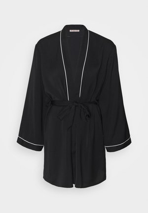 AMANDA DRESSING GOWN  - Badjas - black