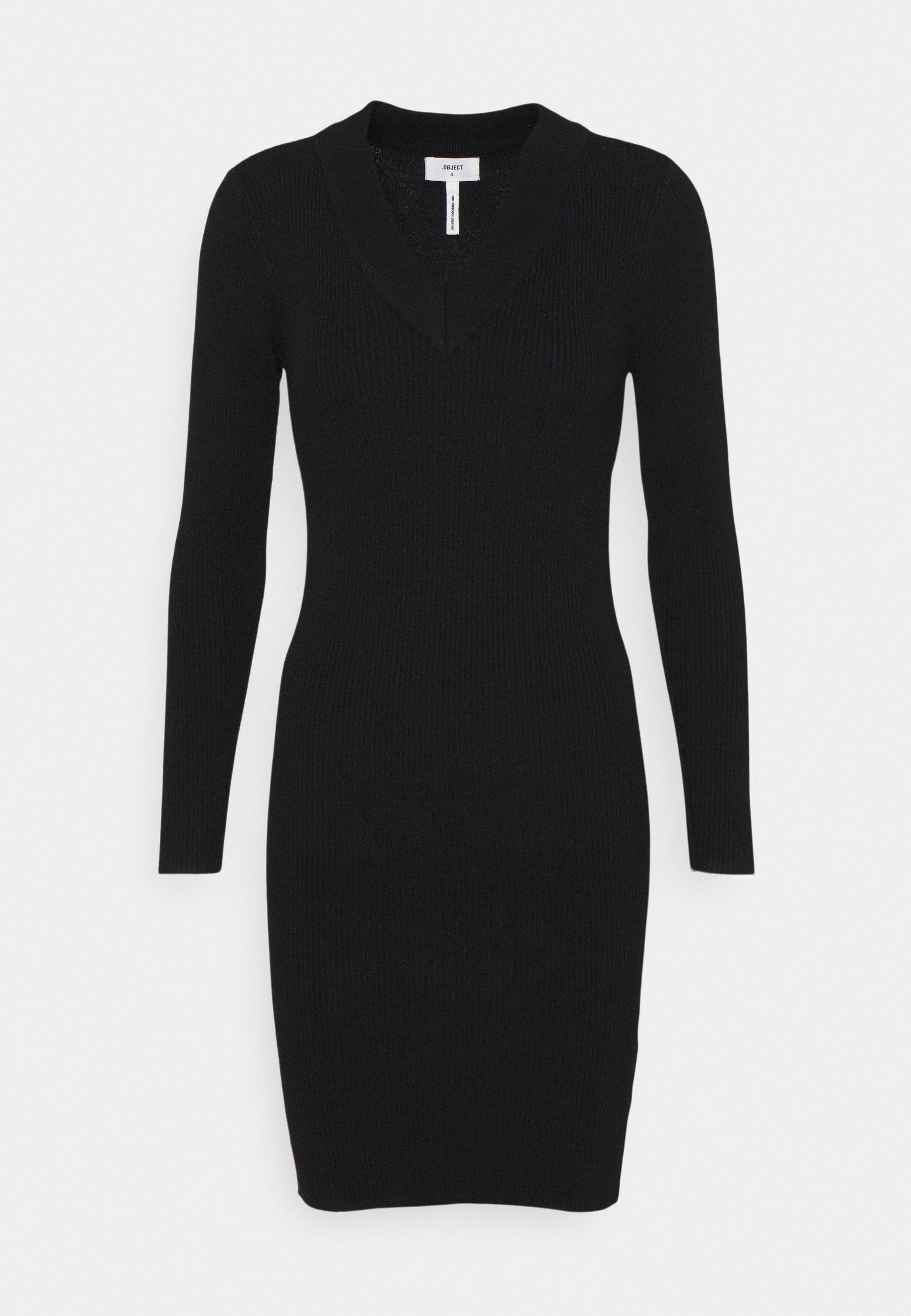 Women OBJFAE THESS DRESS - Shift dress