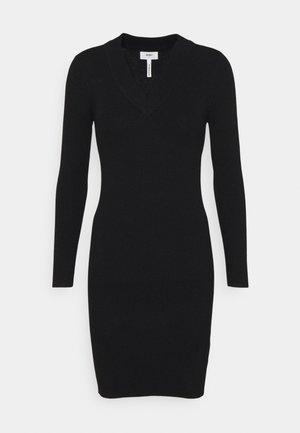 OBJFAE THESS DRESS - Fodralklänning - black