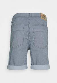 Denim Project - MR ORANGE STRIPE - Shorts - blue - 1