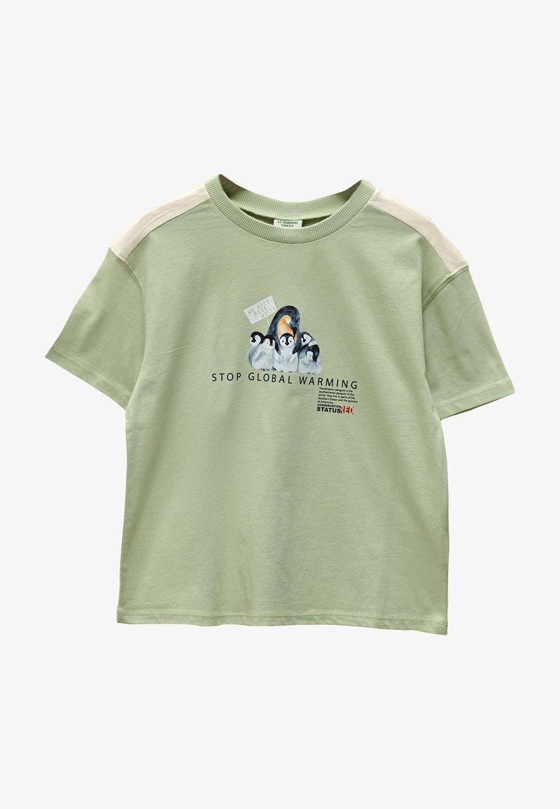 LC Waikiki - Print T-shirt - green