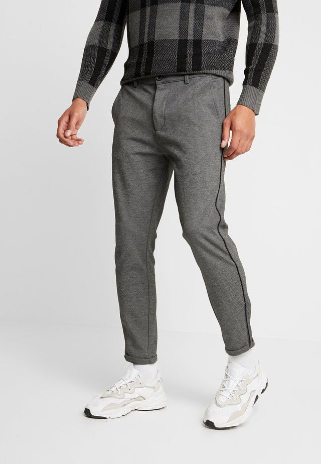 PISA PIPE PANT - Trousers - grey melange