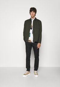 Filippa K - LOUIS GARBADINE - Summer jacket - moss green - 1