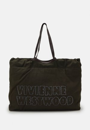 WORKER DRAWSTRING SHOPPER - Tote bag - green