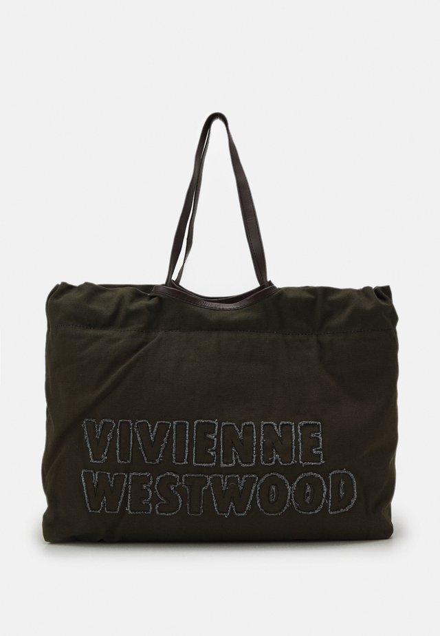 WORKER DRAWSTRING SHOPPER - Shopping bag - green