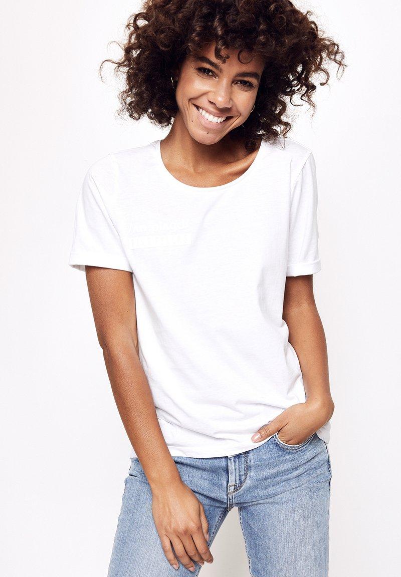 Five Fellas - Print T-shirt - white