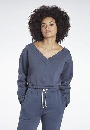 STUDIO RESTORATIVE SWEATSHIRT - Sweatshirt - blue