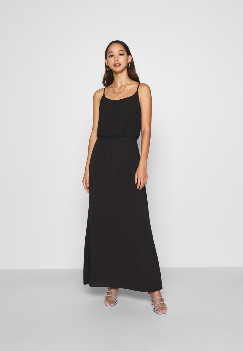 ONLY - ONLNOVA DRESS SOLID - Maxi šaty - black