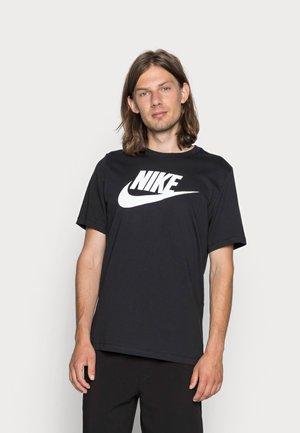 TEE ICON FUTURA - Camiseta estampada - black/white