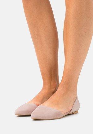 LEATHER - Ballerina's - light pink