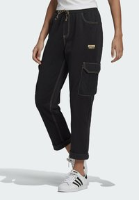 adidas Originals - PANTS - Cargo trousers - black - 0